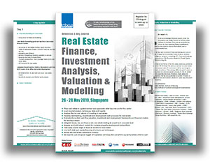 Real Estate Finance, Investment, Valuation & Modelling